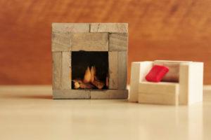 部屋の暖房