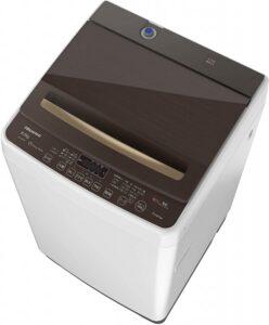 ハイセンス全自動洗濯機HW-DG80A