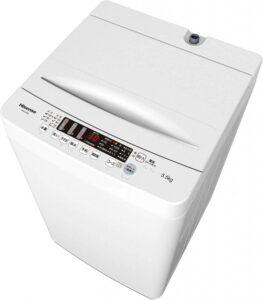ハイセンス全自動洗濯機HW-K55E